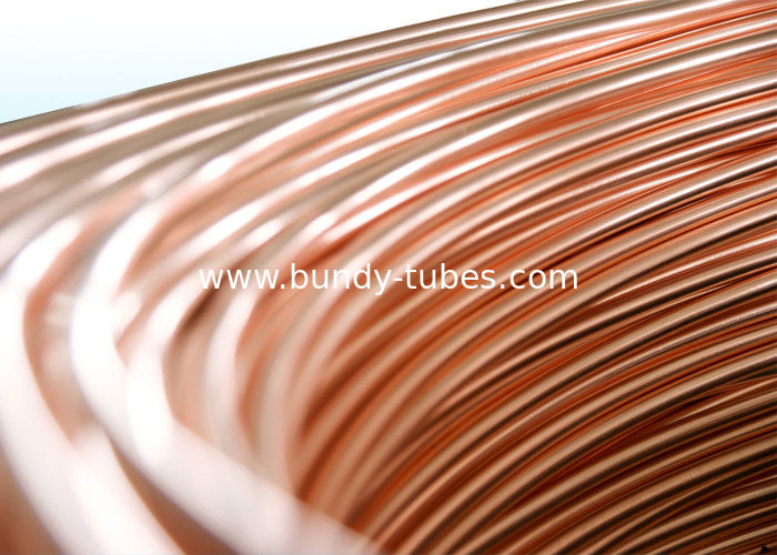 Copper Coated Budy Tube 4.76mm X 0.65mm Condenser Tube